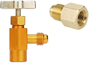 Gator parts Can Dispensing R-134a AC and R134A Adaptor Refrigerant r134a  Refrigerant freon 134a Tap 1/2