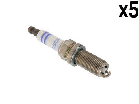 Volvo 2.5L (04-12) Spark Plug (set 5) OEM Bosch