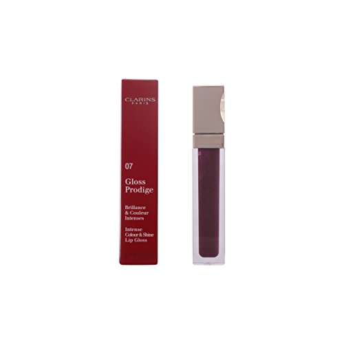 - Clarins Prodige Intense Colour and Shine Lip Gloss, No. 07 Blackberry, 0.19 Ounce
