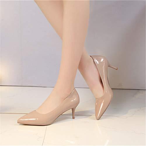 Hauts Abricot Talons de Chaussures Chaussures Escarpins Femme Talon Mariage Chaussures Femmes Escarpins Dames xpH75xw