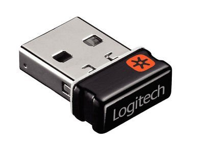 Logitech Unifying Receiver USB Dongle for Logitech M185 Wireless Mouse and Keyboard