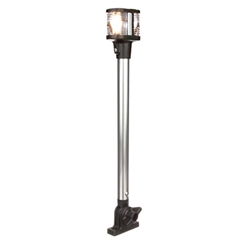 Seachoice 05971 Deluxe Fold-Down Masthead and All-Around Navigation Light - 12-5/8 Inches Tall - Vertical V Mount