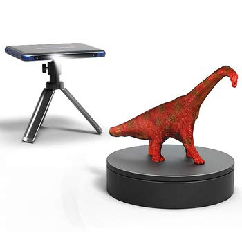 Android System Tanso S1 Ultra-Thin Portable Industrial Level 3D Scanner Fast Scanning 7-Inch Touchscreen Built in Computing AI 0.1mm Accuracy No PC Needed Instant Export Ready for 3D Print