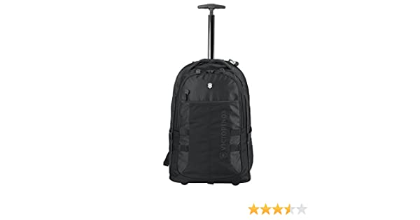 Amazon.com | Victorinox Vx Sport Wheeled Cadet Backpack Black One Size | Backpacks