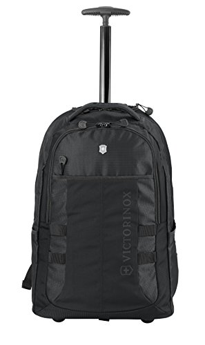 - Victorinox Vx Sport Wheeled Cadet Backpack, Black, One Size