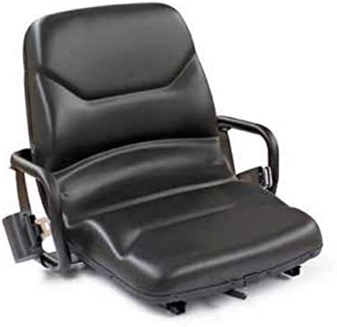 ORANGEPARTS Aftermarket Forklift Seat (Replaces 4636318, 448324, 800020568, 504283729)