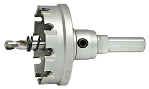 3//16 Depth of Cut 3//16 Depth of Cut Alfa Tools CHC74361 1-1//4 Carbide Tipped Hole Cutter