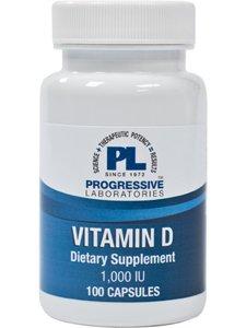 Progressive Labs Vitamin D 1000 IU 100 caps