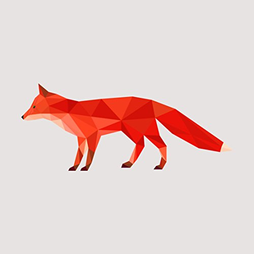 dark-orange-fox-geometric-artistic-decal-five-inch-wide-full-color-decal-for-indoor-or-outdoor-use-c