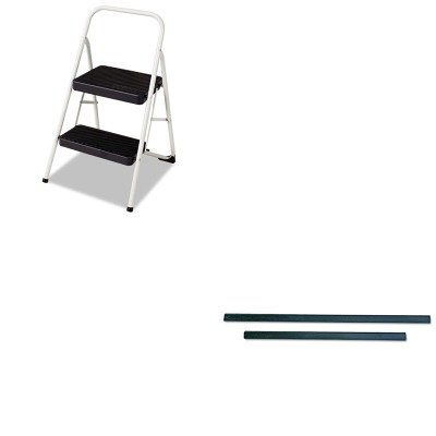 Price comparison product image KITCSC11135CLGG1UNGRT30 - Value Kit - ErgoTec Pro Window Squeegee Replacement Blade,  12quot; (UNGRT30) and Cosco 2-Step Folding Steel Step Stool (CSC11135CLGG1)