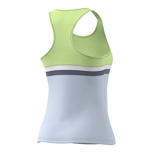 adidas Women's Tennis Club Tank Top, Semi Frozen Yellow, XX-Small by adidas (Image #2)