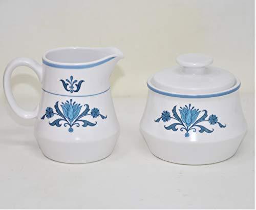 - Noritake Progression BLUE HAVEN Sugar & Creamer Set