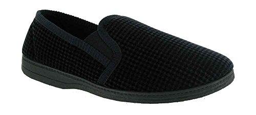 Mirak Slip-On Textile Lined Ladies Slippers - Brown - Size 6 7 8 9 10 11 marrón - marrón