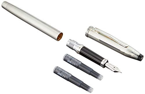 Cross Century II Sterling Silver Fountain Pen with Fine Nib (HN3009-FY) by Cross (Image #2)
