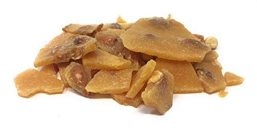 Home Style Peanut Brittle Candy, Yankee Traders Brand, 2 Lb Bulk