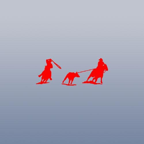 Roping Roper Horse - CAR LAPTOP DECOR RED WINDOW DIE CUT DECORATION WALL WALL ART ART MACBOOK TEAM ROPING ROPER HORSE STICKER DECAL HOME DECOR