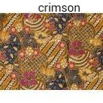 100% cotton Thai Print Sarong Traditional Fabric Wrap Around Skirt Sarong Can Be Use As Sarong Skirt or Other Purposes 72X42 Inches (Crimson)