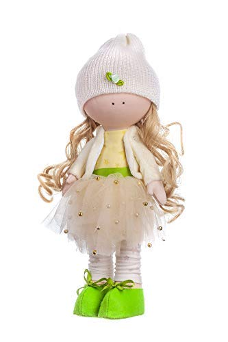 Fairy Lily – Create Your Own Beautiful Rag Doll - A Doll Making Kit by Tsvetnoy – A Wonderful Timeless Gift to Bring Out Your Creativity, Suitable for Teenagers and -