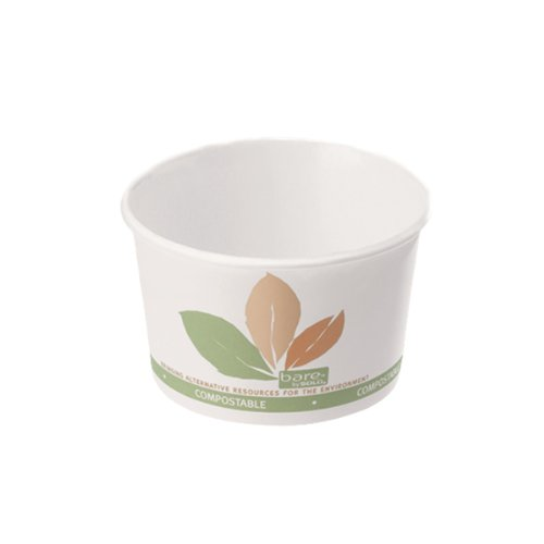 Solo V508PL-JF522 Bare Eco-Forward PLA Paper Food Contain...