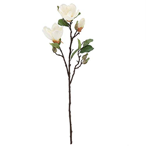 High Branch Landing Magnolia, Artificial Flower Simulation Magnolia Bouquet Home Office Wedding Party Decor ()