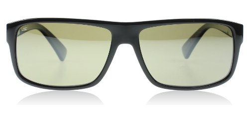 Serengeti Claudio Lunettes de soleil Claudio Shiny Black Polarized 555nm