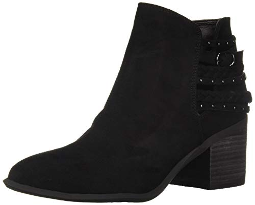 Carlos by Carlos Santana Women's Ashby Ankle Boot, Black, 7.5 Medium US