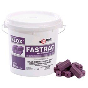 Fasttrac Blox, Fastrac Rodenticide (2) 4lb pails by Fasttrac
