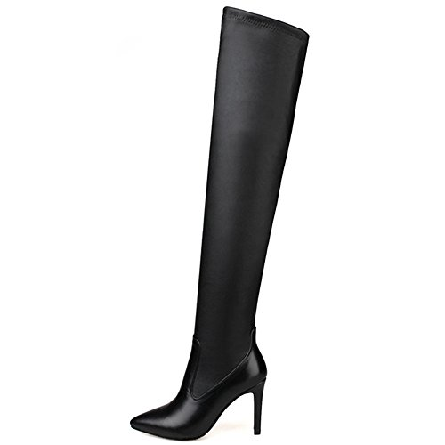 Nine SevenOver the Knee Boot - Botas mujer negro
