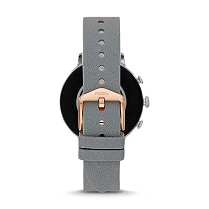 Fossil Damen Digital Smart Watch Armbanduhr mit Silikon Armband FTW6016 2