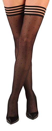 kixies-thigh-highs-womens-polka-dot-ally-tights