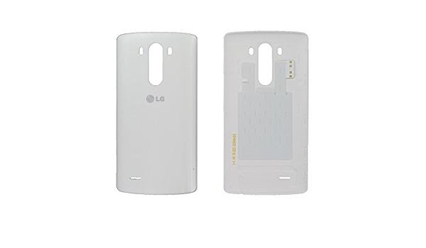 Auténtica LG G3 D850, D855, LS990 blanco tapa de batería con ...