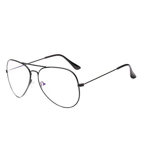 a8f52e0383cf BuyWorld Tesia Unisex Vintage Glasses Women Oversized Clear Glasses Frame  Female Male Oculos De Grau in Aviation Style T260  Amazon.in  Home   Kitchen