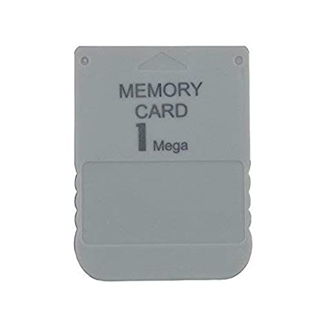 WiCareYo Tarjeta de memoria de 1MB para Playstation One PS1 ...