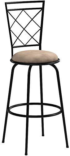 Avery Adjustable Metal Barstools, Set of 3 (brown)