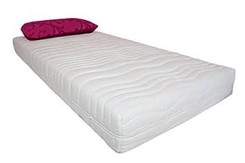 Bienestar 7 zonas espuma en frío colchón altura 20 cm en Medida 120 x 200cm Colchón de goma-espuma A Muy Buen Precio: Amazon.es: Hogar