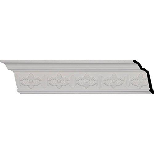 Ekena Millwork MLD05X03X05VI Victorian Crown Molding, 5 1/8-Inch x 3 1/8-Inch x 5 7/8-Inch x 95 7/8-Inch - Victorian Molding