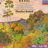 Classical Music : Ravel: Ma Mere L'Oye (Mother Goose); Pavane; Tombeau; Valses Nobles Dutoit, Cond.