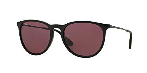 Ray Ban RB4171 601/5Q 54M Black/Polarized Purple+FREE Complimentary Eyewear Care - Purple Sunglasses Wayfarer & Black Lens Ray Ban