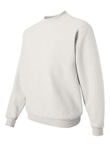 Jerzees Z NuBlend 50/50 Cotton / Poly Crew Sweatshirt - White, ()