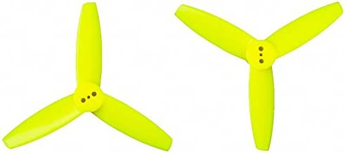Yellow Genuine Gemfan 3035 3-Blades 8CW, 8CCW 16 Pieces RAYCorp Battery Strap Polycarbonate 3-inch Tri Blades Mini Quadcopters /& Multirotors Props Propellers by RAYCorp 3x3.5x3