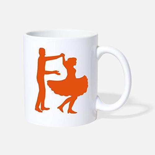 Square Dance Unique Coffee Mug Funny 11oz Sarcasm Mug Cup Present for Girls Boys