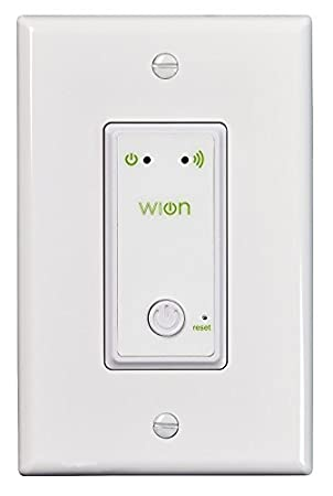 Woods wion 50052 indoor wi fi in wall light switch wireless woods wion 50052 indoor wi fi in wall light switch wireless switch aloadofball Image collections