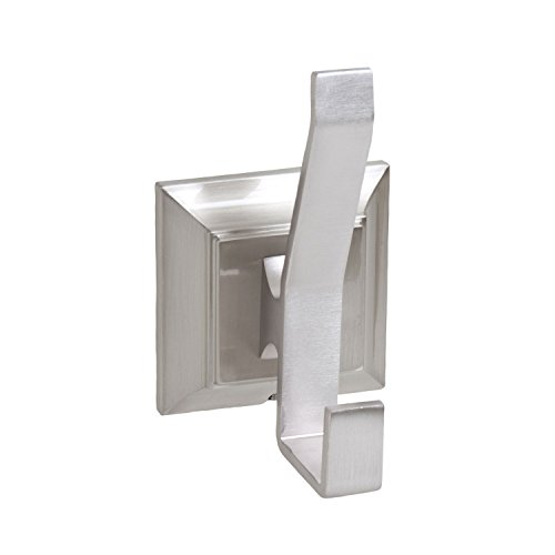 Satin   Brushed Nickel Double Robe Hook