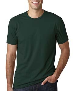 600 Unisex Adult Premium Fitted Short-Sleeve Crew Forest Green Medium (Banana Fitted Jersey T-shirt)