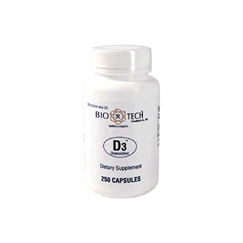 BioTech Pharmacal - D3 (1000 IU) - 250 Count