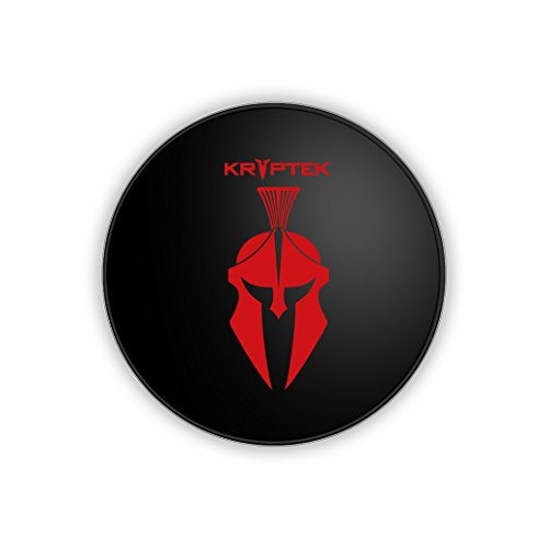 Seidio Wireless Charging Pad Wireless Charger for All - Red Spartan