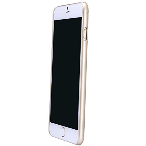 (HS-TOP  ® NILLKIN case cover super gefrostet Schild Matte Conque Slim Hülle Back Protective cover für APPLE iPhone 6 Plus (5,5 Zoll), goldfarben