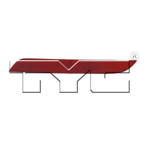 go-parts »互換2012 – 2015 BMW 328iバンパーカバーReflector – 背面右(助手席側) – (f30ボディコード;セダン) 63 14 7 382 234 bm1185100交換用for BMW 328i B07FMYKC12