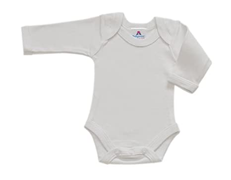 cfda5bac6bf2 BabywearUK Body Vest Env Neck Long Sleeved - Navy - 0-3 months ...