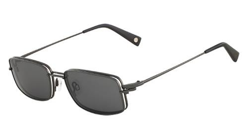 FLEXON Eyeglasses FLX 901 MAG-SET 033 Gunmetal 54MM ()